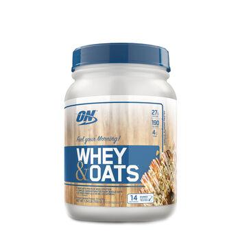 Whey & Oats - Vanilla Almond PastryVanilla Almond Pastry | GNC