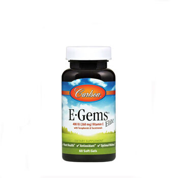 E-Gems® Elite Natural Vitamin E - 400 IU   GNC