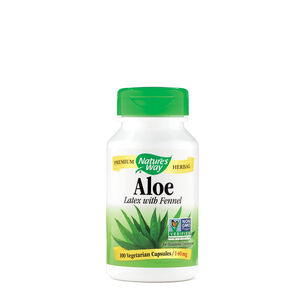 Aloe Latex & Leaf | GNC