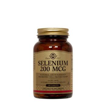 Selenium 200 MCG   GNC
