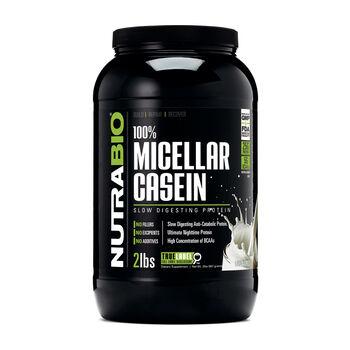 100% Micellar Casein - UnflavoredUnflavored   GNC
