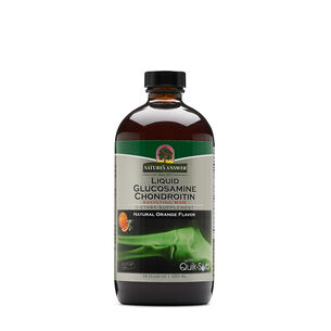 Liquid Glucosamine Chondroitin - Natural Orange Flavor | GNC