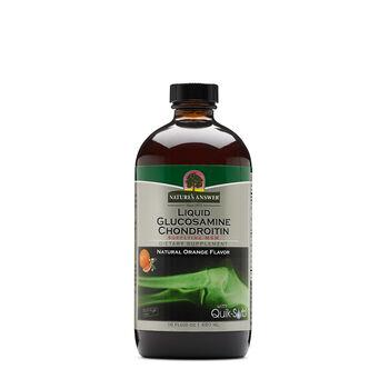 Liquid Glucosamine Chondroitin - Natural Orange Flavor | GNC