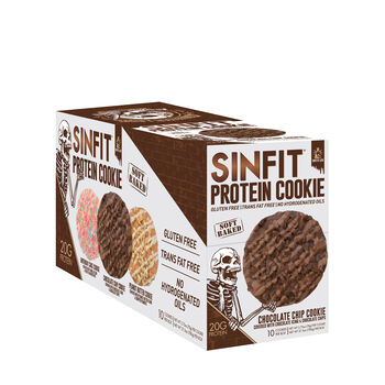 SIN FIT® Protein Cookie - Chocolate ChipChocolate Chip | GNC