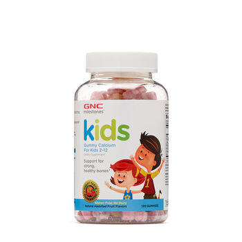 Kids Bone Health Gummy – Assorted Fruit Flavors | GNC