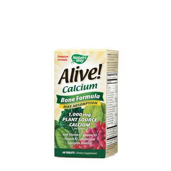 Alive!® Calcium - Bone Formula | GNC