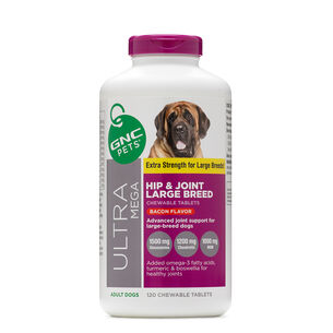 Ultra Mega Hip & Joint Large Breed - Bacon Flavor | GNC