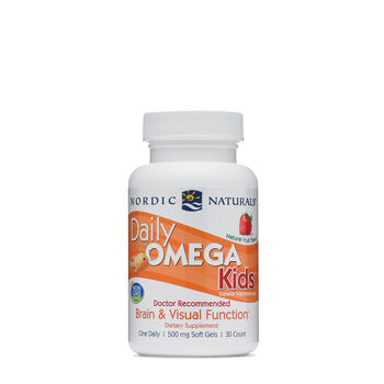 Daily Omega Kids 500 mg - Strawberry | GNC