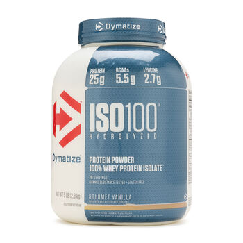 ISO•100® - Gourmet VanillaGourmet Vanilla | GNC