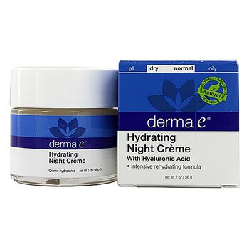 Hydrating Night Creme With Hyaluronic Acid | GNC