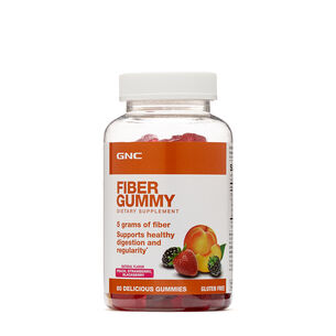 Fiber Gummy - Peach, Strawberry, Blackberry | GNC