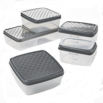 FitPak Leak-Proof Meal Prep Container Set | GNC