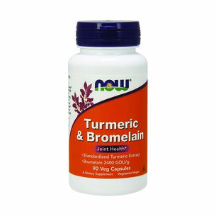 Turmeric & Bromelain | GNC
