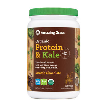 Organic Protein and Kale - Smooth ChocolateSmooth Chocolate | GNC