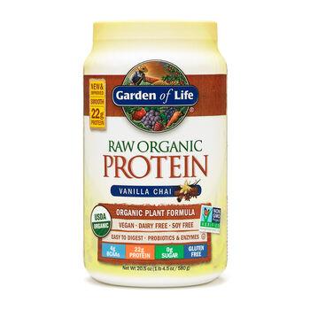 Raw Organic Protein- Vanilla ChaiVanilla Chai | GNC