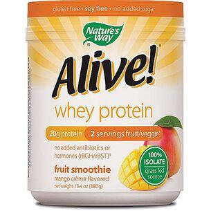 Alive!® Whey Protein - Mango CremeMango Creme   GNC