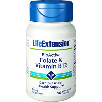 BioActive Folate & Vitamin B-12 | GNC
