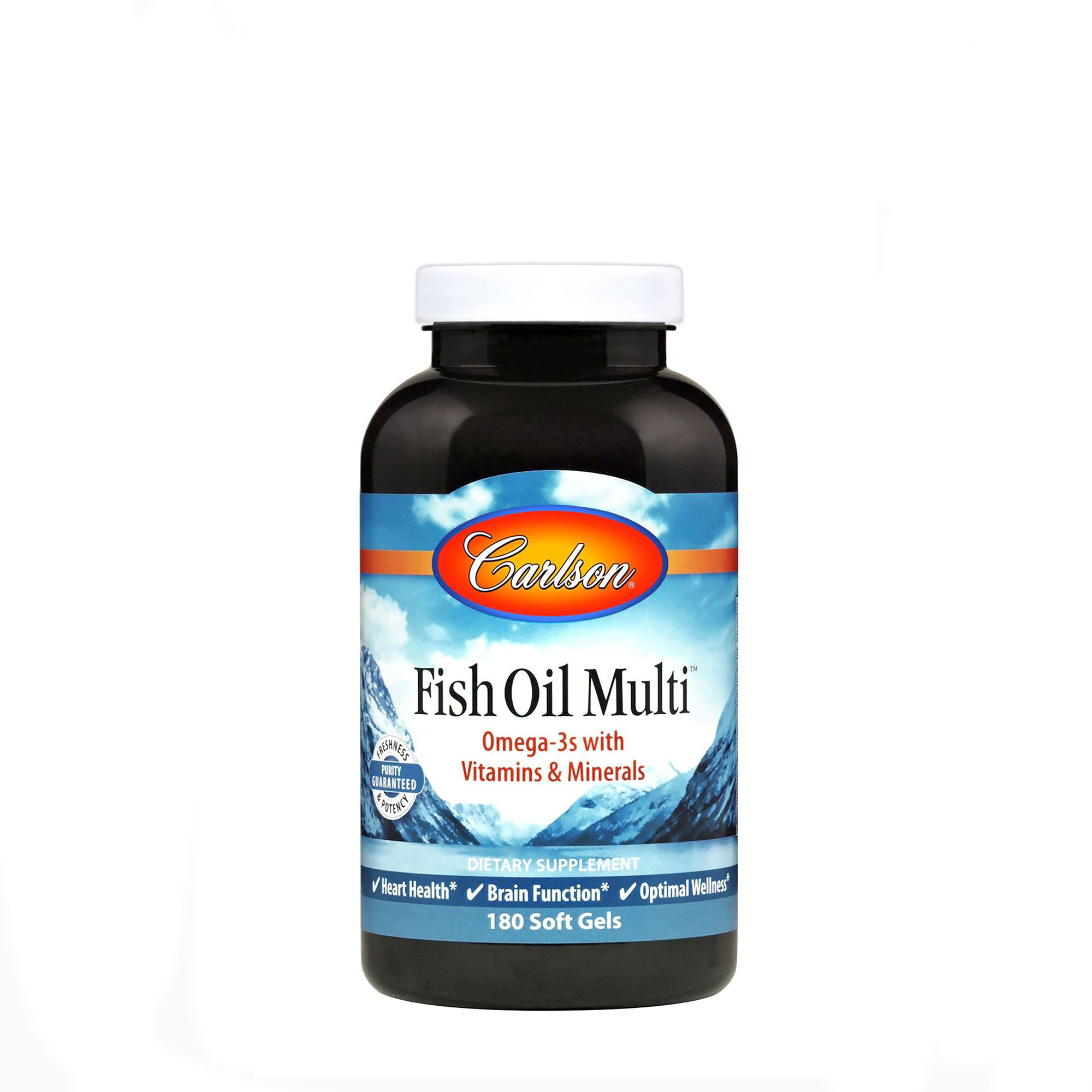 Fish Oil Multi? - 180 Softgels - Carlson - Fish Oils