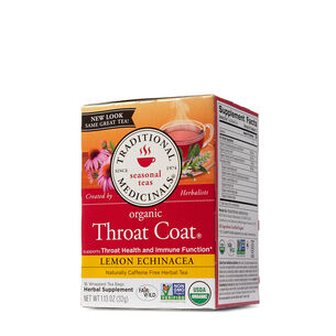 Throat Coat® Lemon Echinacea | GNC