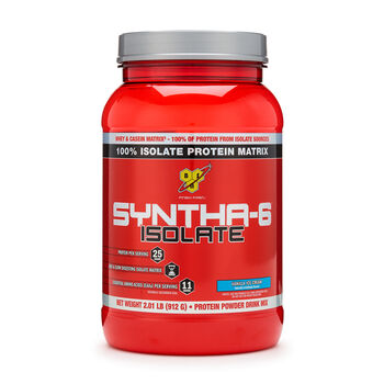 SYNTHA-6™ ISOLATE – Vanilla Ice CreamVanilla Ice Cream | GNC