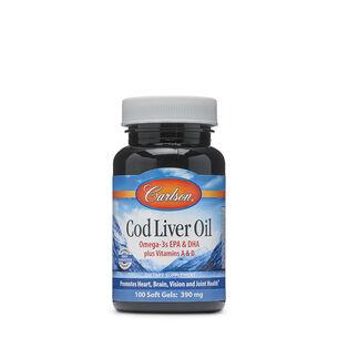 Cod Liver Oil - Omega 3s EPA & DHA plus Vitamins A & D | GNC