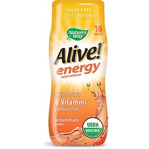 Alive!® energy water enhancer - Orchard PeachOrchard Peach | GNC
