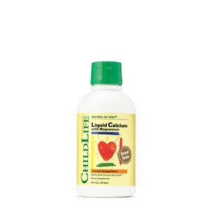 GNC ChildLife Liquid Calcium with Magnesium - Natural Orange Flavor