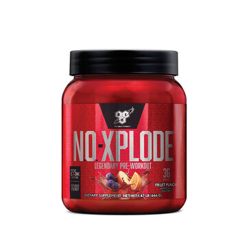 N.O.-XPLODE™ Pre-Workout Igniter - Fruit Punch - 20% MORE FREE!Fruit Punch | GNC