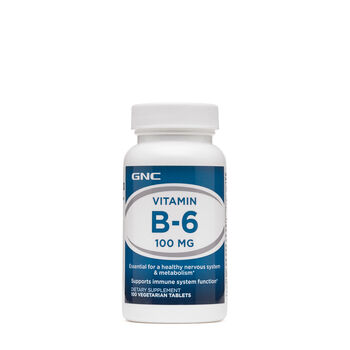 Vitamin B-6 100 mg | GNC