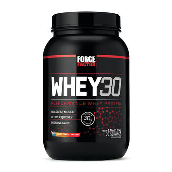 WHEY30 - Fruity Cereal SplashFruity Cereal Splash | GNC