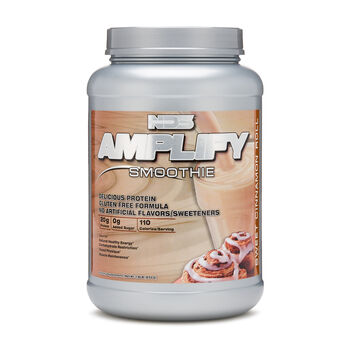 Amplify® Smoothie - Sweet Cinnamon RollSweet Cinnamon Roll | GNC