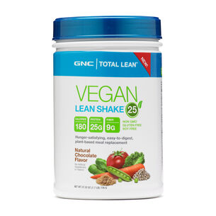 Vegan Lean Shake™ 25 - Natural ChocolateNatural Chocolate | GNC