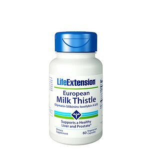 GNC 밀크시슬 Life Extension European Milk Thistle
