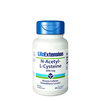 Life Extension 174 N Acetyl L Cysteine 600 Mg Gnc