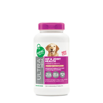 HIP & JOINT HEALTH SENIOR DOGS - PEANUT BUTTER FLAVORPeanut Butter Flavor | GNC