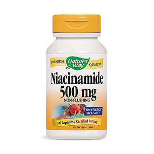 GNC Nature's Way Niacinamide 500mg
