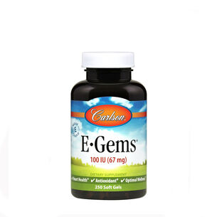 E-Gems® Natural Vitamin E - 100 IU | GNC