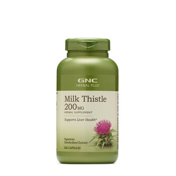 Milk Thistle 200 MG | GNC