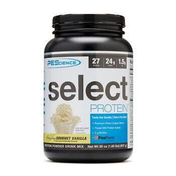 Select Protein™ - Amazing Gourmet VanillaAmazing Gourmet Vanilla | GNC