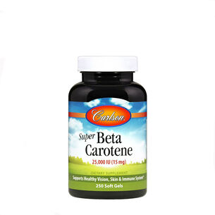 Super Beta Carotene - 25,000 IU (15 mg) | GNC
