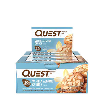 Quest Bar – Vanilla Almond CrunchVanilla Almond Crunch | GNC