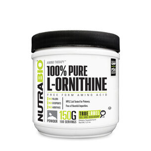 Amino Therapy™ 100% Pure L-Ornithine | GNC
