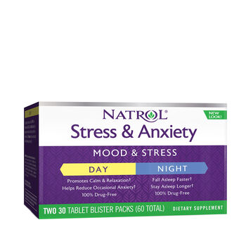 Stress Anxiety Day & Nite | GNC