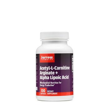 Acetyl-L-Carnitine Arginate + Alpha Lipoic Acid | GNC