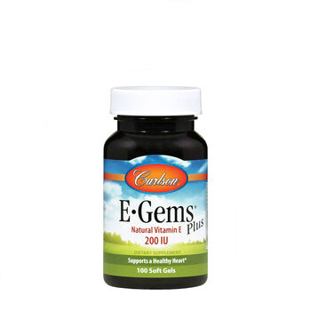 E-Gems® Plus Natural Vitamin E - 200 IU | GNC