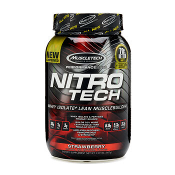 Nitro-Tech™ - StrawberryStrawberry | GNC