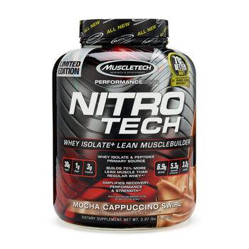 Nitro-Tech™ - Mocha Cappuccino SwirlMocha Cappuccino Swirl | GNC