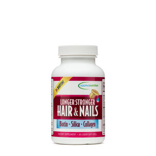 Longer Stronger Hair & Nails® | GNC
