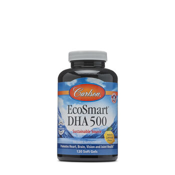 EcoSmart™ DHA 500 - Natural Lemon Flavor | GNC