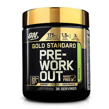 Gold Standard Pre-Workout™ - Green Apple -  Exclusive 20% More Free Bonus SizeGreen Apple | GNC